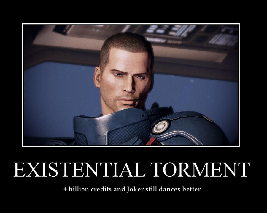 ME2 - Shepard demotivational by Leyne