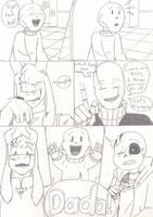 Baby Bones (Post-tale side comic) PG 44 by TrueWinterSpring