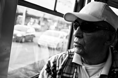 In the tram by ValeraNight