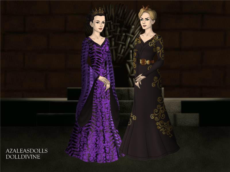 Regina vs Cersei by CBowdidge