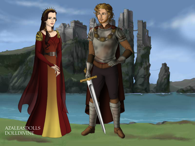 Arthur and Guinevere by CBowdidge
