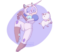 [ Bee and Puppycat doodle ]