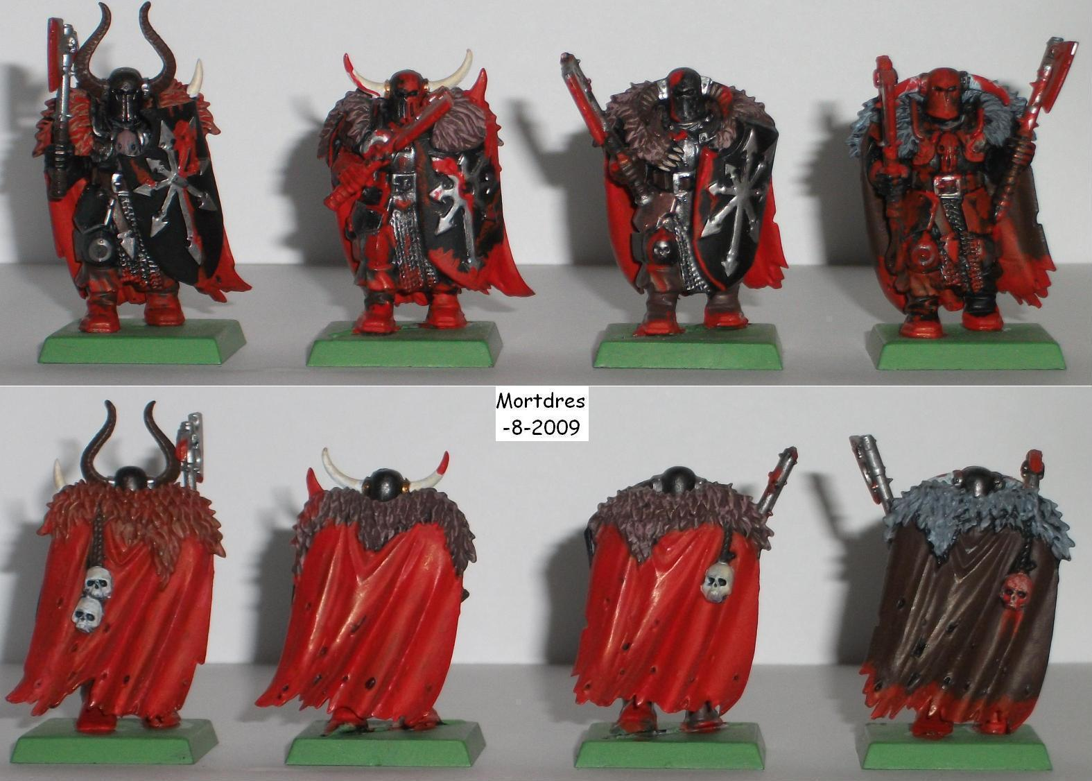 Warriors of chaos 7th Khorne by Mortdres