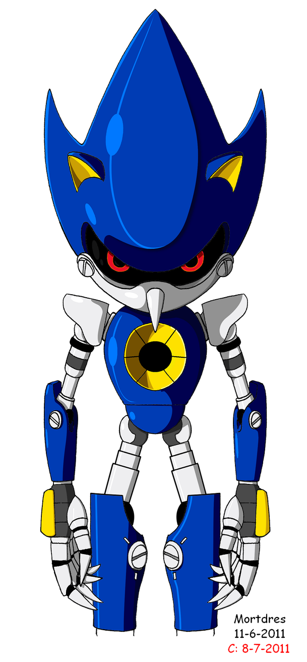 Metal Sonic Stand by Mortdres