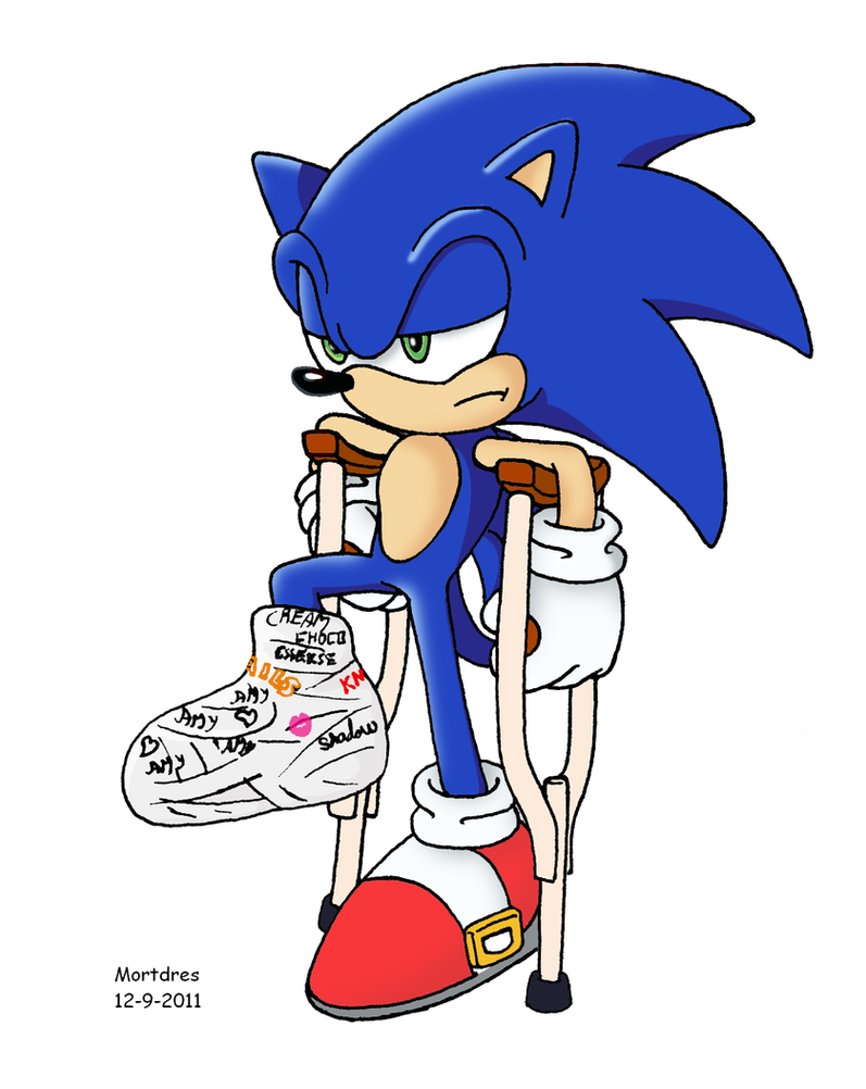 Not so fast Sonic by Mortdres