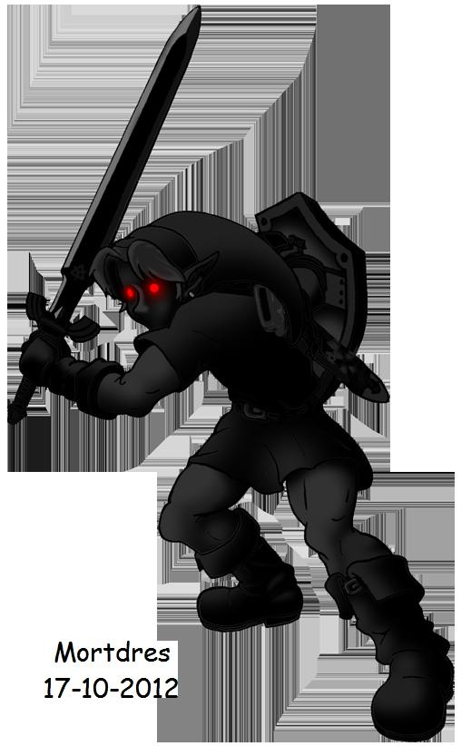 Dark Link (Ocarina of Time) by Mortdres on DeviantArt