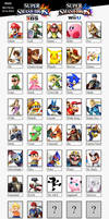 Super Smash Bros Wii U - 3DS