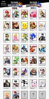 Super Smash Bros Wii U - 3DS by Mortdres