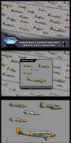 Aircraft sprites of Germany world war 2