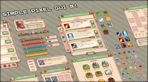 Simple pixel GUI #1