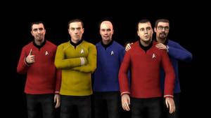 Starship Explorer - Crew by deciever2000