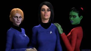Starship Explorer - Women Power by deciever2000