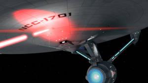 USS Enterprise by deciever2000