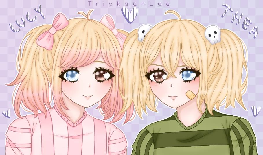 The Mortseth twin sisters