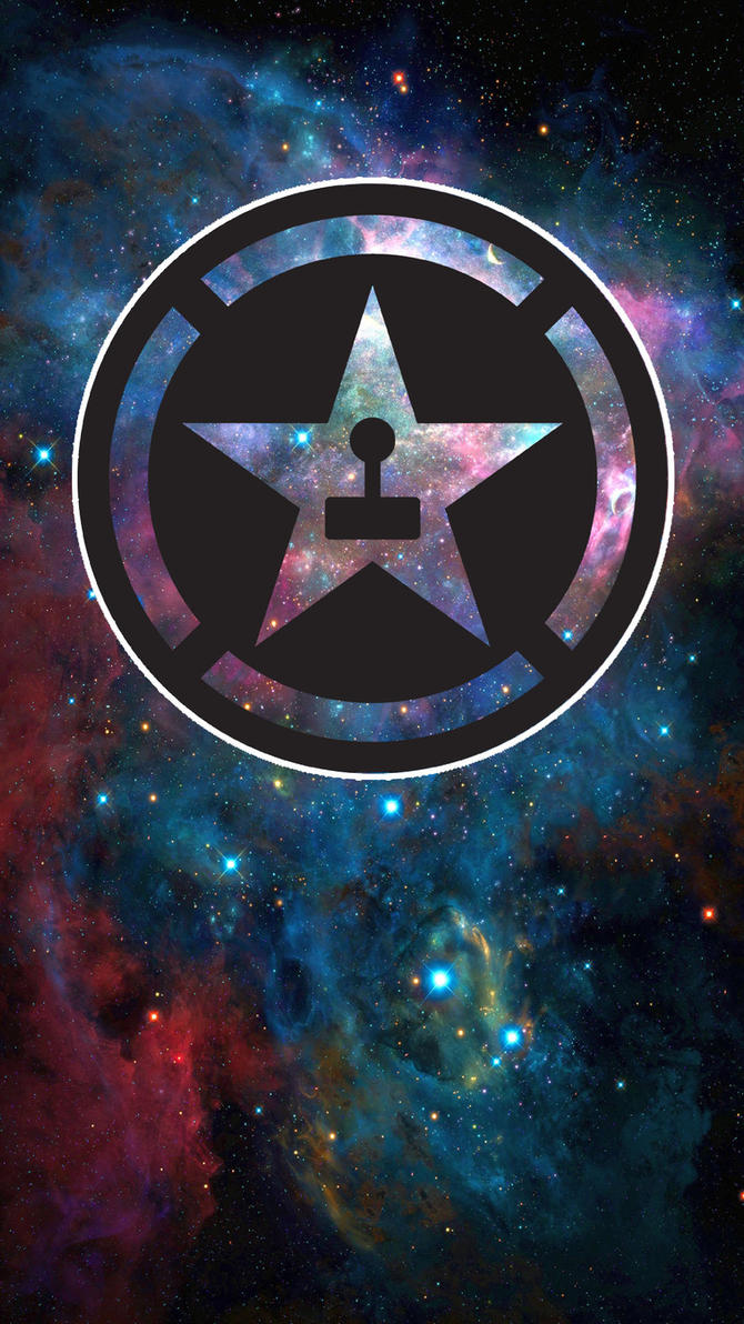 AH Space Phone Wallpaper By SKaTeRaT211
