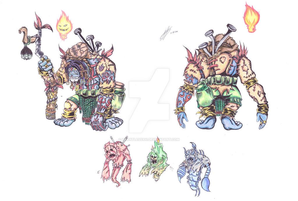 Yorick, Voodoo Skin Concept by heartlessXIII