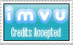 IMVU Credits Accepted Stamp by BreeBones