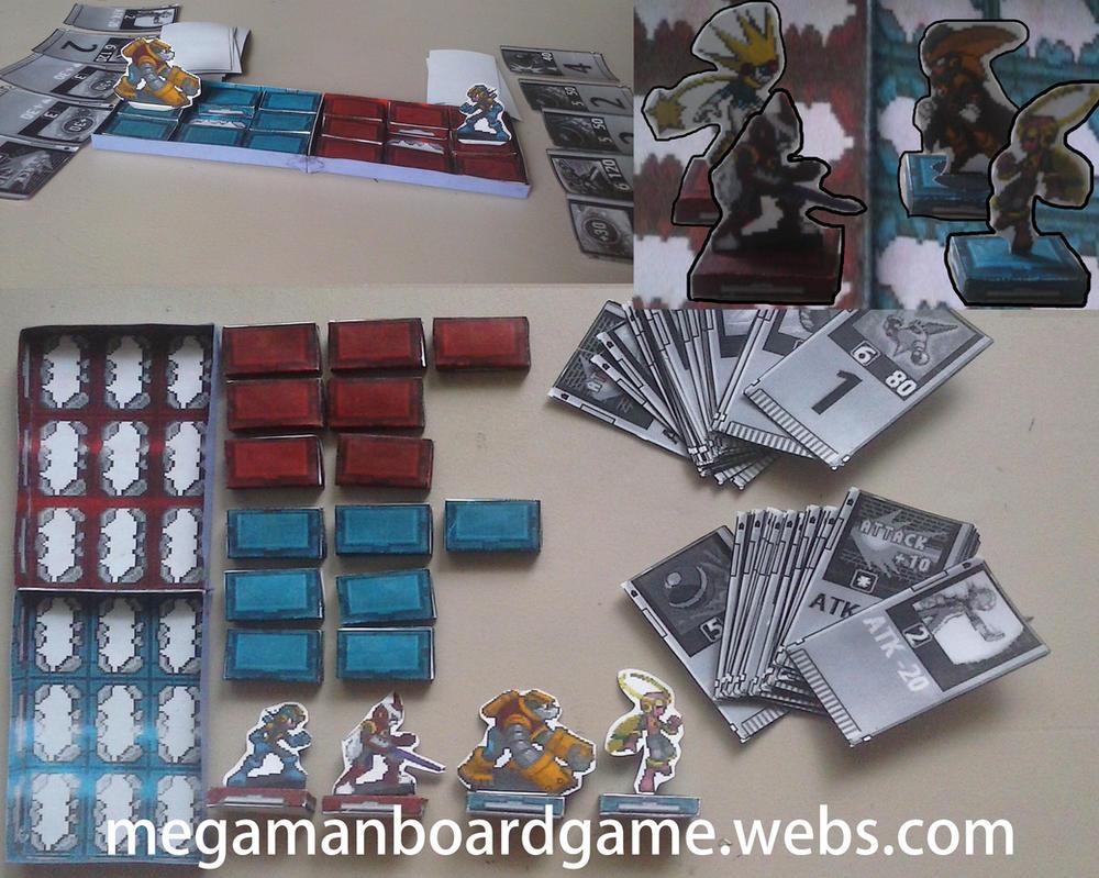 Megaman Battle Network Board Game by SMDgamer27