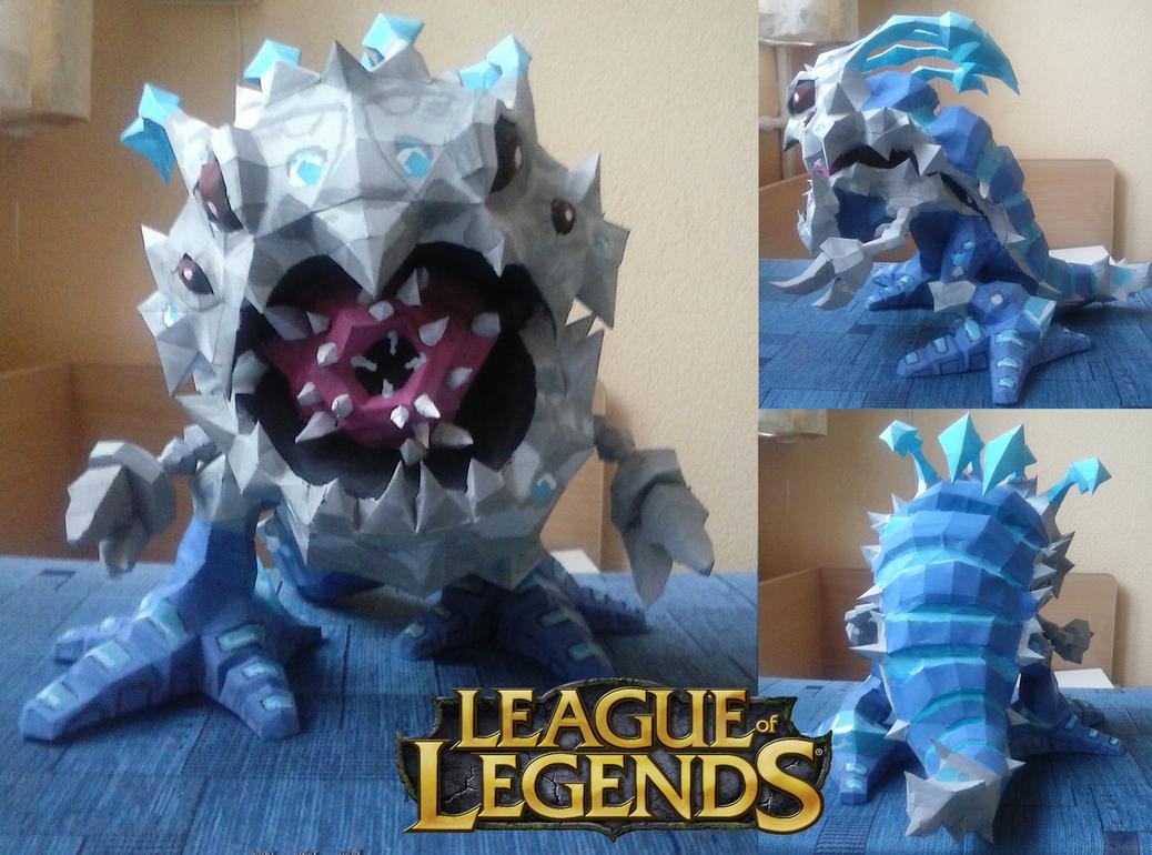 Kog'Maw papercraft - League of Legends by SMDgamer27
