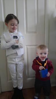 Little Hoth Princess Leia and Mini Starlord