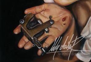 Yliana tattoo machine by eddy-avila-r