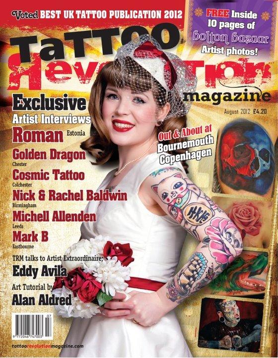 Tattoo revolution magazine by eddy avila r on deviantart for Tattoo artist magazine download