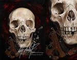 Skull tattoo macine