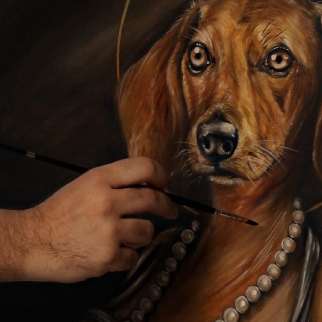 perro detalle by eddy-avila-r