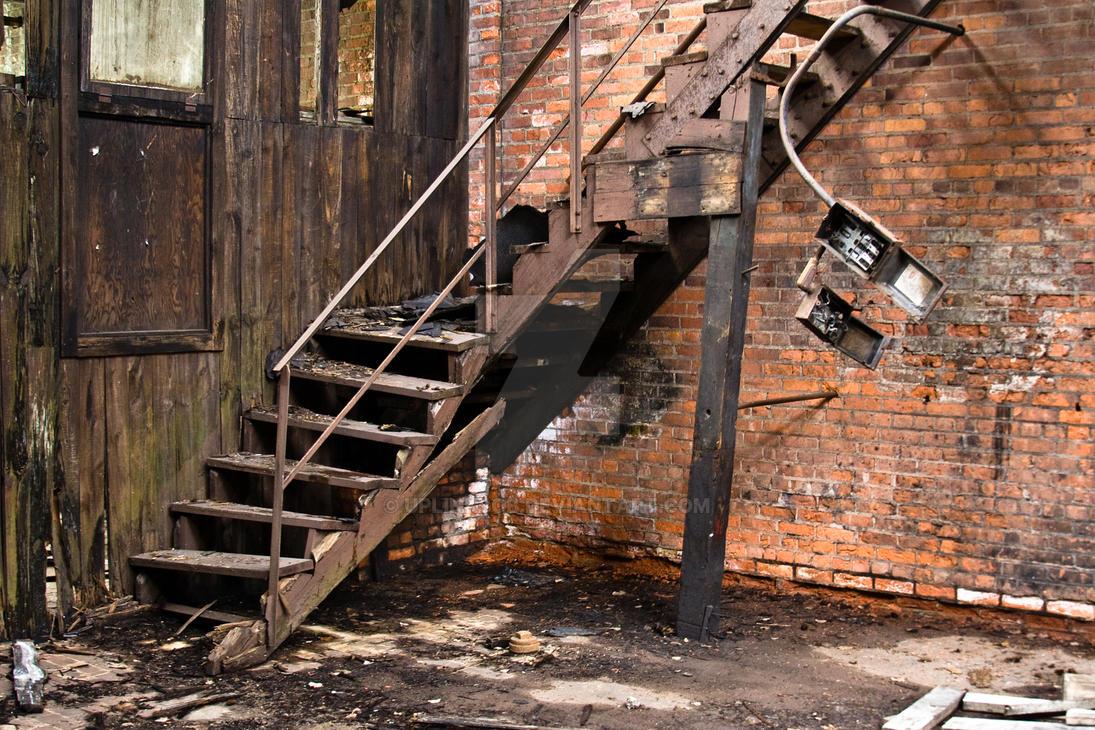 Warehouse 12 Stairs ENHANCED By Uplinkbob ...