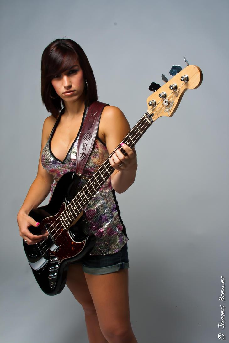Sexy girl bass