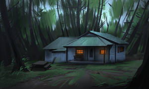 #5 Cabin in the woods by CrimsonSword03