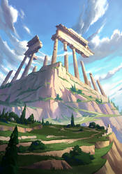 Temple Ruins by CrimsonSword03