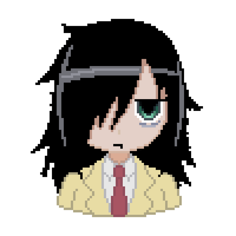 Watamote Icon By Souleaterz50