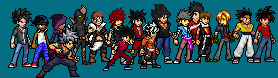 Sprite OC's by Clethrow