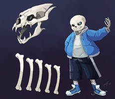 Sans The Skeleton by PancrythePancreas5
