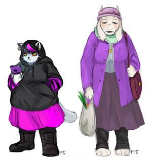 Catti And Toriel