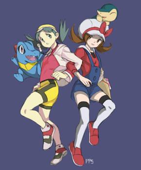 Pokemon: Kris and Lyra