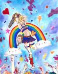Juliet Starling - Bleeding Rainbows by 7AirGoddess3