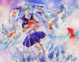 Bottle Miku - Splash~ by 7AirGoddess3