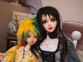 Luna and Terran by 7AirGoddess3