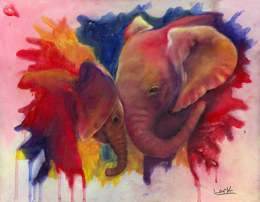 Elephants in Technicolor
