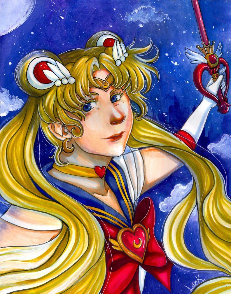 Sailor Moon - Crystal Sky by 7AirGoddess3