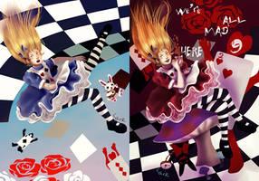 Alice - Light and Dark by 7AirGoddess3