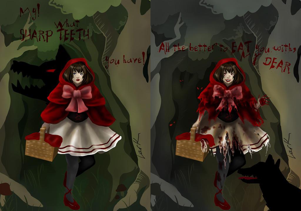 Little Red Riding Hood - Light and Dark by 7AirGoddess3
