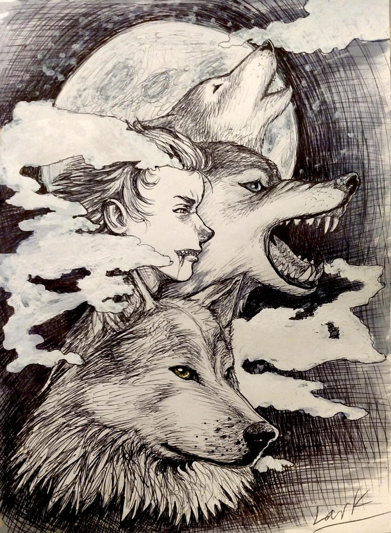 Inktober day 6 - Howl by 7AirGoddess3