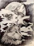 Inktober day 6 - Howl