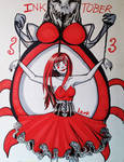 Inktober/goretober day 3 - puppet by 7AirGoddess3