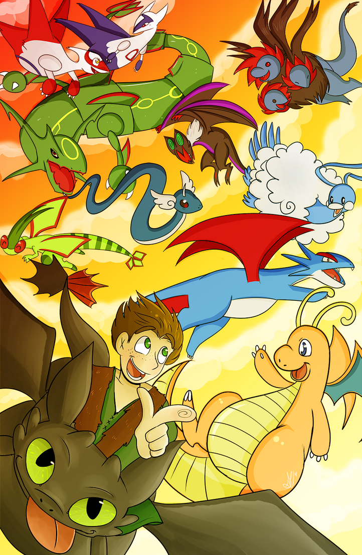 How to Train Your Dragon Pokemon by NamiOki on DeviantArt