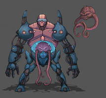 Krang by Teratophile