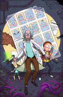 Ricks Of Future Past by Teratophile